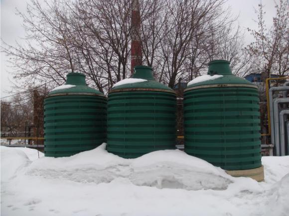 Газгольдеры VALTER TOSTO вертик. на 5000 литров
