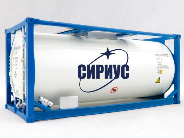 Доставка сжиженного газа в танк-контейнерах