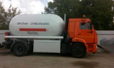 Газовоз АЦТ-14 (КамАЗ), 14 куб. м